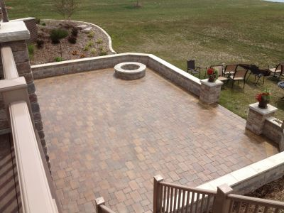 Paver Patio Installation in Bloomington