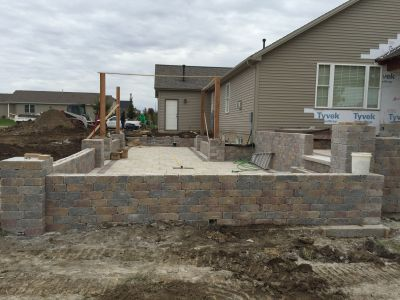 Landscape Retaining Walls in Bloomington IL
